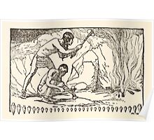The Trail Book by Mary Hunter Austin art Milo Winter 1918 0170 The Mound Builders Poster