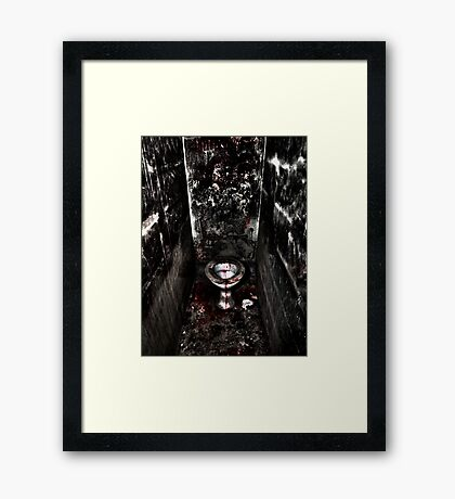 The Cubicle Framed Print