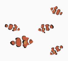 Fish: Clown Fish Kids Tee