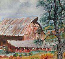 Happy New Year on the Farm  by Warren  Thompson