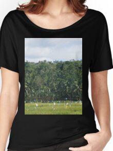 a desolate Timor-Leste landscape Women's Relaxed Fit T-Shirt