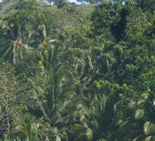 a desolate Timor-Leste landscape Sticker