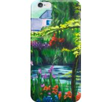 Monet's Muse (acrylic) iPhone Case/Skin