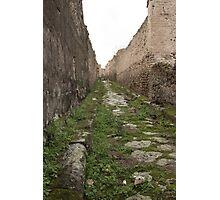 Streets of Pompeii Photographic Print