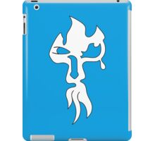 face ink  iPad Case/Skin