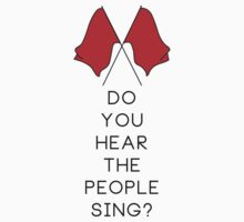 Do you hear the people sing? - WHITE Kids Clothes