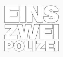 EINS ZWEI POLIZEI Kids Clothes