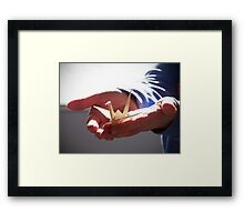 Holding Hope In Your Hands  Framed Print