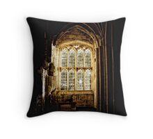 Church Window Detail Throw Pillow