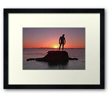 Serene Machine Framed Print