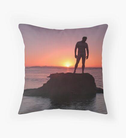 Serene Machine Throw Pillow