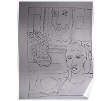 Study After Matisse. Poster
