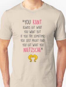 Hedwig, Kant & Nietzsche T-Shirt