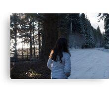 Enter Narnia Canvas Print