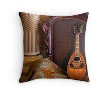 The Mandolin Throw Pillow