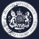 On her Majesty&#x27;s secret service logo by bengrimshaw