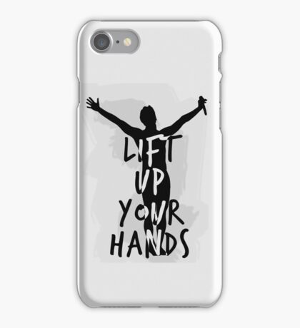 Lift Up Your Hands #2 iPhone Case/Skin