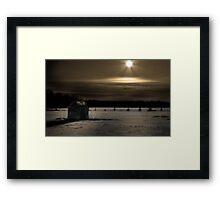 Moon Rising Framed Print