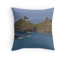 Islands off Lord Howe Island Throw Pillow