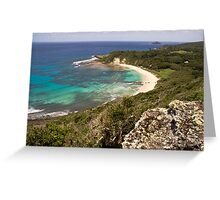 Neds Beach, Lord Howe Island Greeting Card