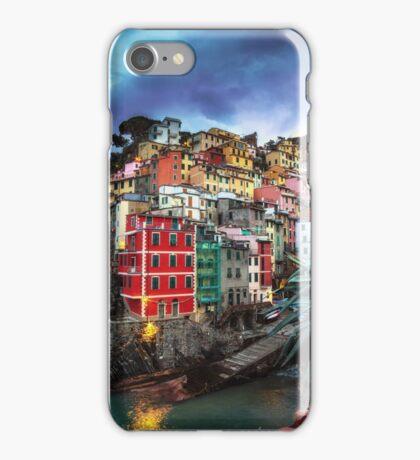 Riomaggiore Blue Hours iPhone Case/Skin