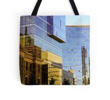 Reflected Tdot Tote Bag