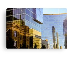 Reflected Tdot Metal Print