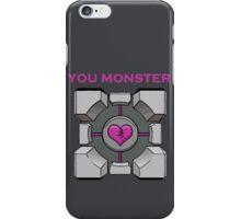 You Monster (dark) iPhone Case/Skin