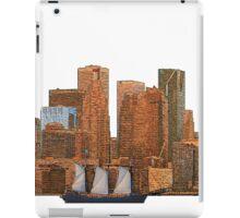 Tall Ship in Toronto Harbour iPad Case/Skin
