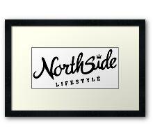 Northside White Crown Framed Print