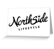 Northside White Crown Greeting Card