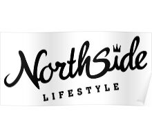 Northside White Crown Poster