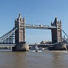Tower Bridge Panorama by Terry Senior