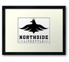 NSL White Bird Framed Print