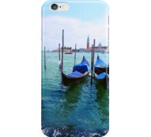 Venice waters iPhone Case/Skin