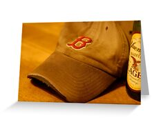 My Brother's Hat (Please view large) Greeting Card