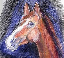 "A Pencil Interpretation of Mattison's ""looking outside"" by leystan"