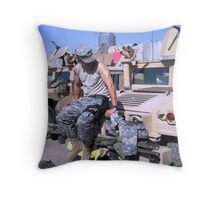 Before Convoy Throw Pillow