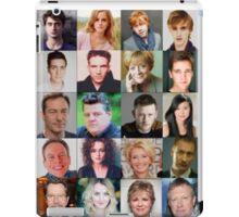 Harry Potter Actors iPad Case/Skin