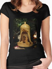 Christmas Nativity Women's Fitted Scoop T-Shirt