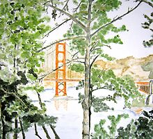 Golden Gate by brushmarq