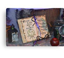 Disney Haunted Mansion Madame Leota Foolish Mortal Canvas Print