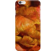 Curling Tulip Abstract 21 iPhone Case/Skin