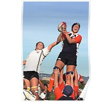 Lineout Catch Poster