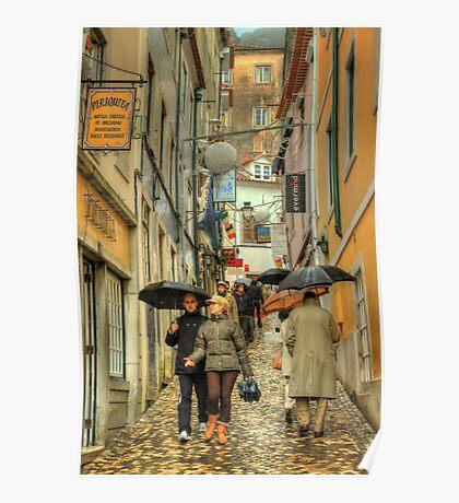 rainy Sintra.... Poster