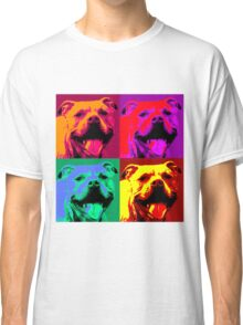 Pit Bull Pop Art Classic T-Shirt
