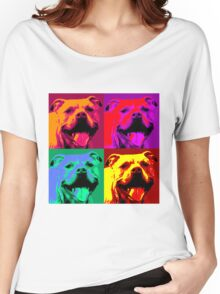 Pit Bull Pop Art Women's Relaxed Fit T-Shirt