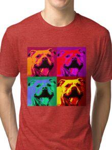Pit Bull Pop Art Tri-blend T-Shirt