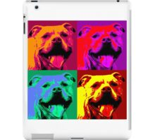 Pit Bull Pop Art iPad Case/Skin