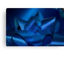 Blue Bow Canvas Print